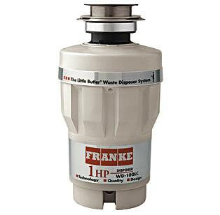 Franke WD100LC Continuous Feed Food Disposer