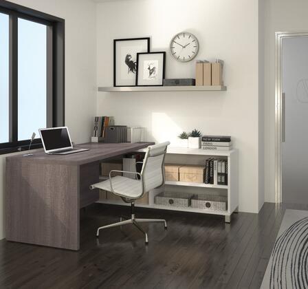 Bestar Furniture 120885 Pro-Linea L-Desk