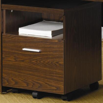 "Coaster 800835 17.75"" Wood Contemporary File Cabinet"