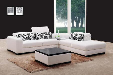 VIG Furniture VG0867  Sofa and Chaise Fabric Sofa