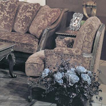 Yuan Tai NC1035A Nicola Series Chair Fabric Accent Chair