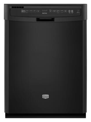 Maytag MDB7749AWB JetClean Plus Series Built-In Full Console Dishwasher with 5 Wash Cycles Hard Food Disposer |Appliances Connection