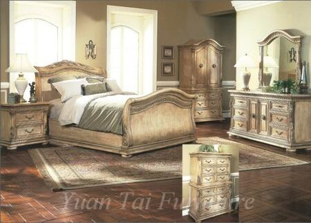 Yuan Tai 7501K Florence Series  King Size Bed