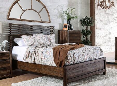 Furniture of America CM7576QBED Hankinson Series  Queen Size Bed