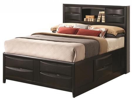 Coaster 202701KE Briana Series  King Size Bookcase Bed