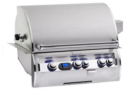 FireMagic E660I-4L1X Echelon Diamond Series Built In X Grill with a 660 sq. in. Cooking Area and Left Infrared Burner: Stainless Steel