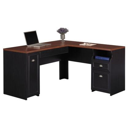 "Bush Furniture WC532X003K Fairview 60"" L-Desk"