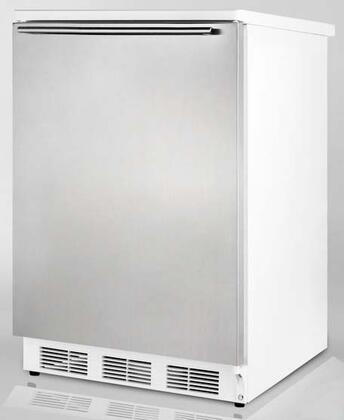 Summit FF6L7BISSHH  Built In / Freestanding  Refrigerator with 5.5 cu. ft. Capacity,  Field Reversible Doors |Appliances Connection