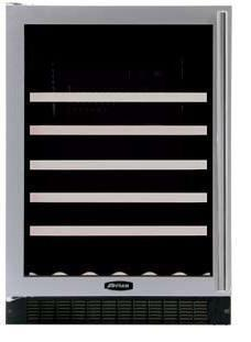"AGA APRO61WCMCRNR 23.88"" Built-In Wine Cooler, in Red"