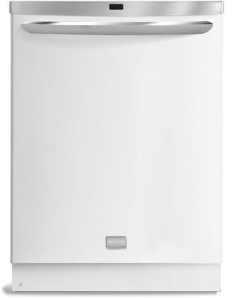 Frigidaire FGHD2471KW Gallery Premier Series Built-In Fully Integrated Dishwasher with in White