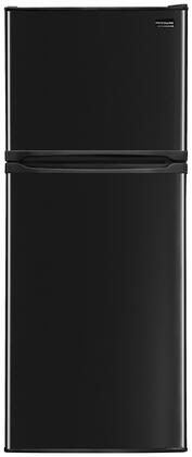 Frigidaire FFHT10F2LB Freestanding Counter Depth Top Freezer Refrigerator with 9.9 cu. ft. Total Capacity 2 Wire Shelves 2.88 cu. ft. Freezer Capacity