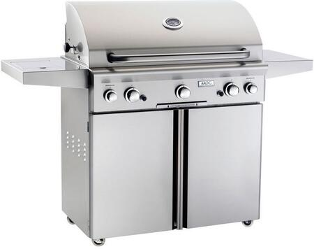 American Outdoor Grill 36xC-00SP Stainless Steel Built-In Natural Gas Grill with 648 sq. in. Cooking Area and Electronic Push Button Ignition