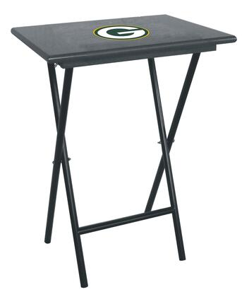 Imperial International 86-10 NFL Themed TV Tray Set With Official Team Color and Logo & Stand (Sold In Sets Of 4)