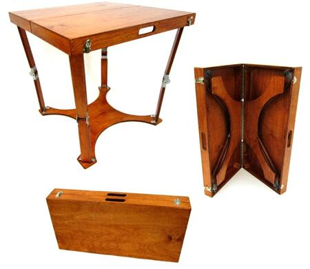 Spiderlegs HCD3030 Hand Crafted and Custom Finished Dining Folding Table