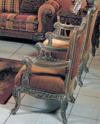 Yuan Tai SR6750A Sorrento Series Fabric Chair with Wood Frame