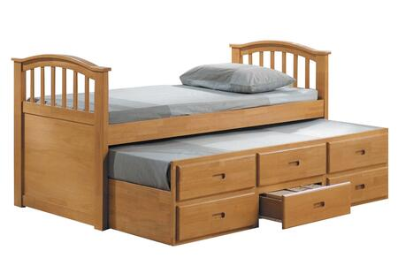 Acme Furniture 08935 San Marino Series  Twin Size Storage Bed
