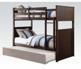 Acme Furniture 38025 Hector Series  Twin Size Bunk Bed