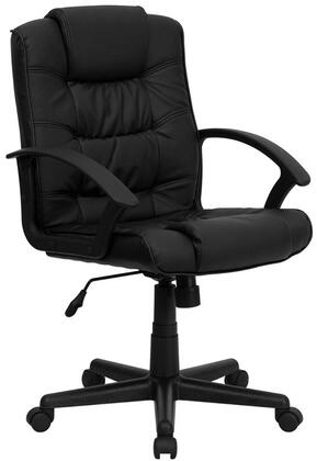 """Flash Furniture GO937MBKLEAGG 26.5"""" Contemporary Office Chair"""
