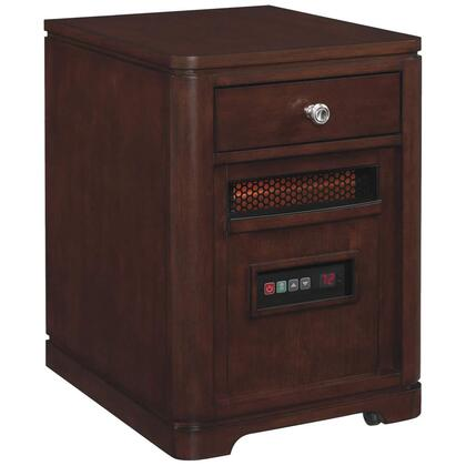 Picture of 10HET4128-C244 Infrared Portable Heater with 6686 Cu Ft  1500 Watt5200 BTU Heat Output  6 InfraRed Quartz Heating Elements  Solid Hardwoods and Real Wood