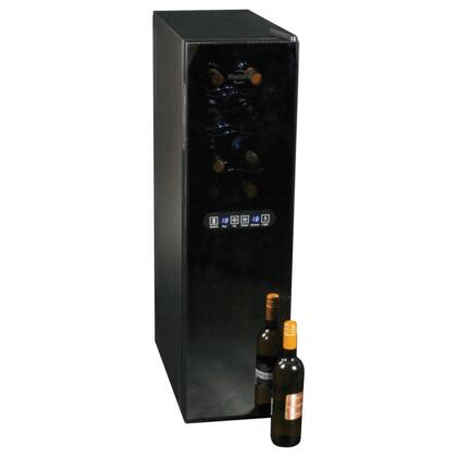 "Koolatron WC18 10.25"" Freestanding Wine Cooler, in Black"