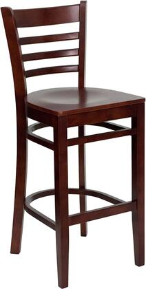 Flash Furniture XUDGW0005BARLADMAHGG Hercules Series Contemporary Not Upholstered Wood Frame Dining Room Chair