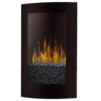 Dimplex VCX1525 Convex Series Wall Mountable Vent Free Electric Fireplace