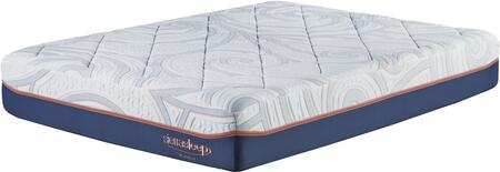 """Sierra Sleep 12 Inch MyGel Collection M758X1 12"""" Thick Mattress with Gel Infused Memory Foam, Stretch Knit Quilted Cover and High Density Support Core in White"""