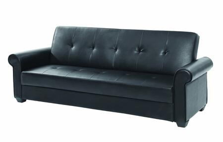 Glory Furniture G152S Buxton Series Convertible Faux Leather Sofa