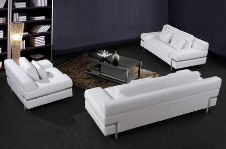 VIG Furniture VG2T0725HL Modern Leather Match Living Room Set