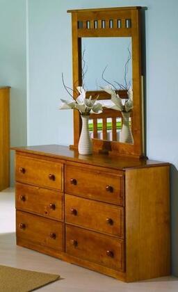 Donco 109H  Rectangular Protrait Dresser Mirror