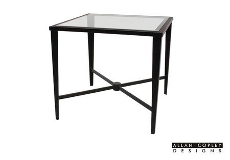 Allan Copley Designs 210302G Belmont Series Contemporary Square End Table