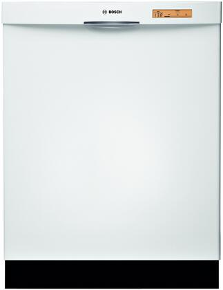 Bosch SHE68P02UC 800 Series Built-In Semi-Integrated Dishwasher