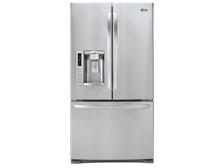 LG LFX28991ST  French Door Refrigerator with 27.6 cu. ft. Total Capacity 4 Glass Shelves