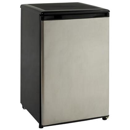Avanti RM4589SS2  Freestanding Compact Refrigerator with 4.5 cu. ft. Capacity, 2 Wire ShelvesField Reversible Doors