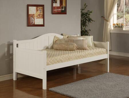Hillsdale Furniture 15DB Staci Daybed with Arched Silhouette, Bead Board Design, MDF and Veneer Construction in