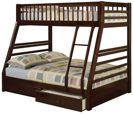 Acme Furniture 02020 Jason Series  Twin Over Full Size Bunk Bed