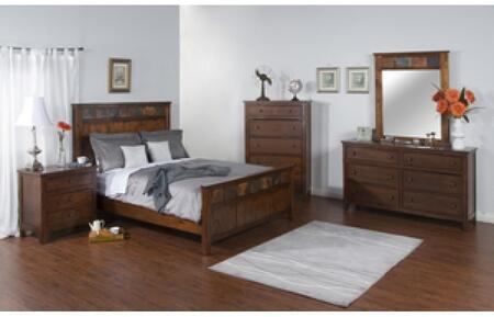 Sunny Designs 2334DCQBDMNC Santa Fe Queen Bedroom Sets