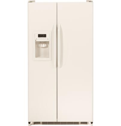 """GE GSH25JGDCC 36"""" Freestanding Side by Side Refrigerator"""