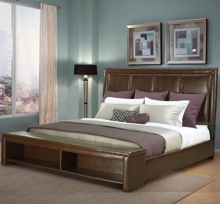 Standard Furniture 55186  King Size Panel Bed