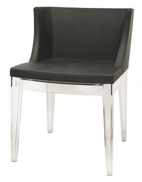 Wholesale Interiors DC493PVC Fiore Series  Accent Chair