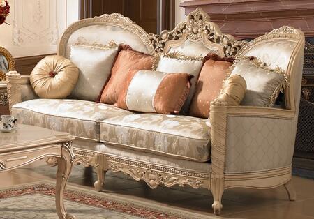 Homey Design HD91S  Stationary Fabric Sofa