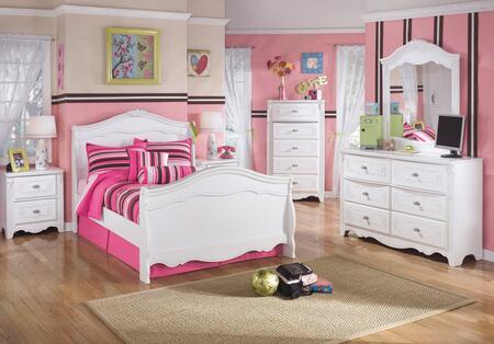 Milo Italia BR274FSBDMN Woodard Full Bedroom Sets