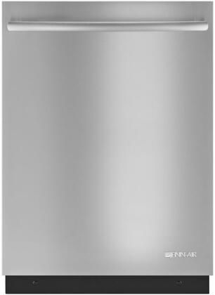 "Jenn-Air JDB9600CWT 24"" Flush Dishwasher with Built In Water Softener, Upper Rack with UltraGlide Rails, Sensor Wash Cycle with ClearScan Turbidity Sensor, and Waterlock Plus Flood Protection Technology, in"