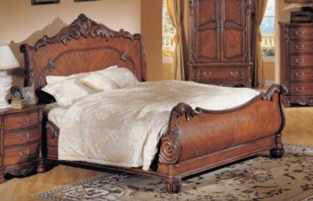 Yuan Tai 5261K Savannah Series  King Size Sleigh Bed