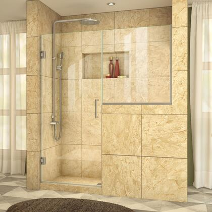 DreamLine UnidoorPlus Shower Door 39 30D 30BP 04