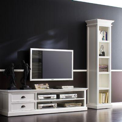 Infinita 814495011416Halifax Series Wood 4-5 Shelves Bookcase