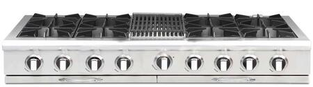 "Capital CGRT604B4N 60"" Culinarian Series Electric Open Burner Style Cooktop, in Stainless Steel"