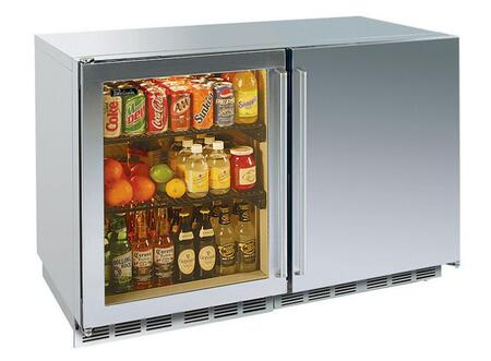 Perlick HP48RWS4L2RDNU Signature Series Counter Depth All Refrigerator with 12.3 cu. ft. Capacity
