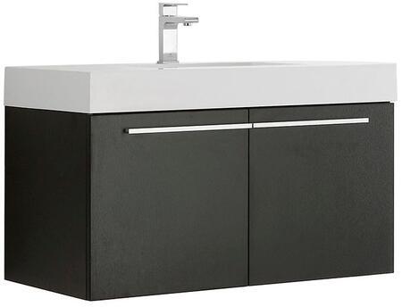 Fresca FCB8090XXX Vista Modern Bathroom Cabinet w/ Integrated Sink in