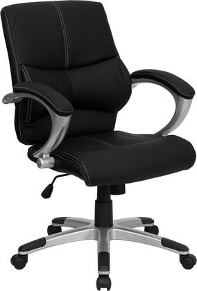 """Flash Furniture H9637L2MIDGG 26.75"""" Contemporary Office Chair"""